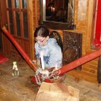 Siekierezada, vyhlášená restaurace v Cisně
