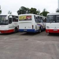 Autobusy, které jezdí po Bieszczadech