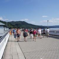 Hráz přehrady Solina