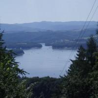 Výhled na přehradu Solina